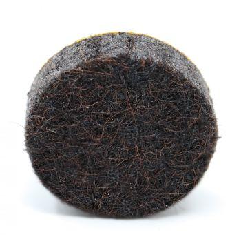 almohadillas de fieltro   Ø 16 mm   marrón   redondas   Patas de muebles adhesiva de la máxima calidad (5.5 mm) de Adsamm®