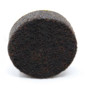 almohadillas de fieltro   Ø 18 mm   marrón   redondas   Patas de muebles adhesiva de la máxima calidad (5.5 mm) de Adsamm®
