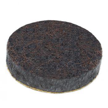 almohadillas de fieltro   Ø 22 mm   marrón   redondas   Patas de muebles adhesiva de la máxima calidad (5.5 mm) de Adsamm®