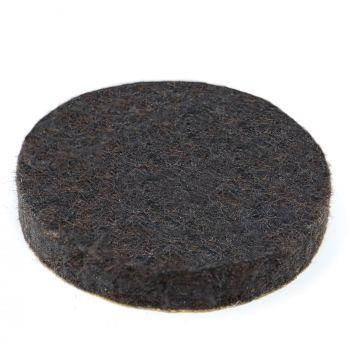 almohadillas de fieltro   Ø 32 mm   marrón   redondas   Patas de muebles adhesiva de la máxima calidad (5.5 mm) de Adsamm®