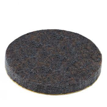 almohadillas de fieltro   Ø 34 mm   marrón   redondas   Patas de muebles adhesiva de la máxima calidad (5.5 mm) de Adsamm®