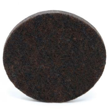 32 x almohadillas de fieltro | Ø 60 mm | marrón | redondas | Patas de muebles adhesiva de la máxima calidad (5.5 mm) de Adsamm®