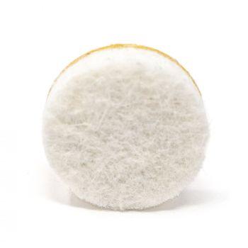 4 x almohadillas de fieltro | Ø 18 mm | blanco | redondas | Patas de muebles adhesiva de la máxima calidad (5.5 mm) de Adsamm®