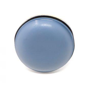 PTFE glides | Ø 0,79'' (Ø 20 mm) | grey-blue | round | Premium quality self-adhesive furniture sliders by Adsamm®