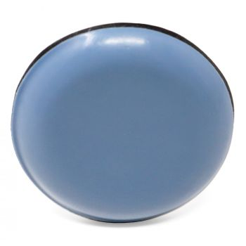 PTFE glides | Ø 1,18'' (Ø 30 mm) | grey-blue | round | Premium quality self-adhesive furniture sliders by Adsamm®