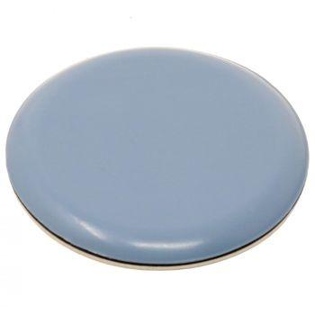 PTFE glides | Ø 2,36'' (Ø 60 mm) | grey-blue | round | Premium quality self-adhesive furniture sliders by Adsamm®
